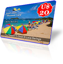 St Lucia Discouny Card